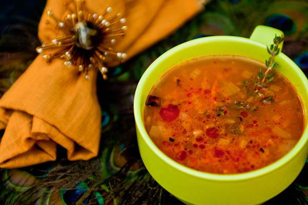 суп харчо из утиной грудки рецепт